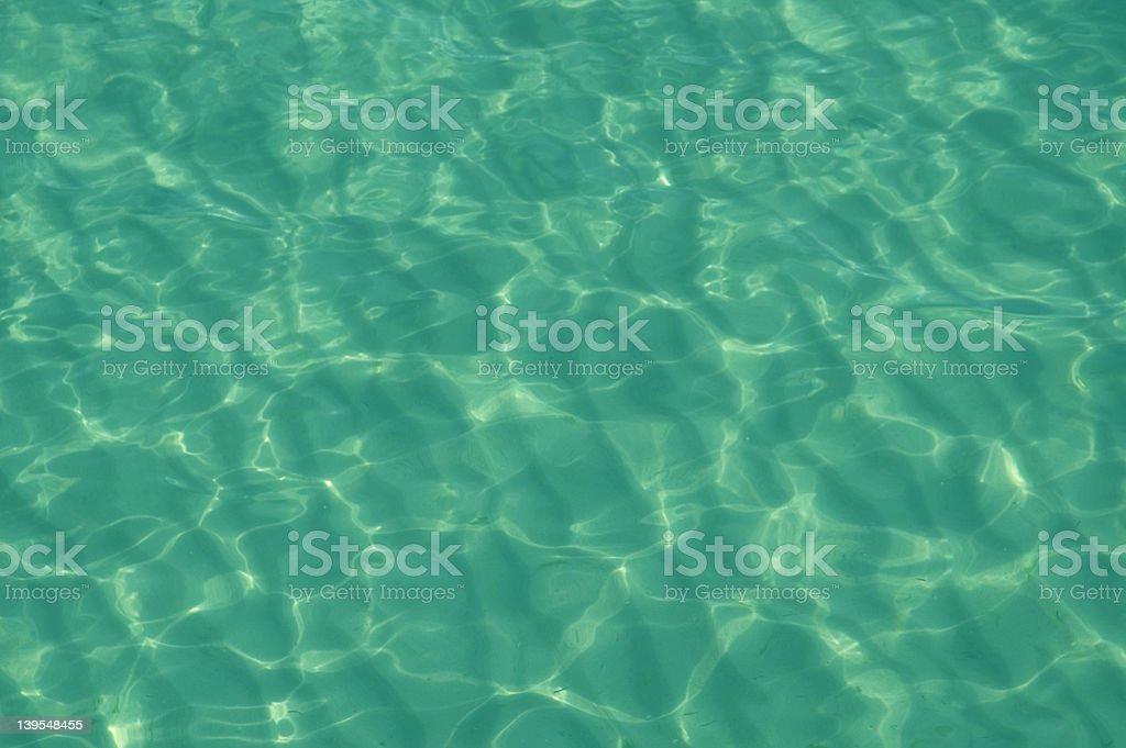 Sparkling sea royalty-free stock photo