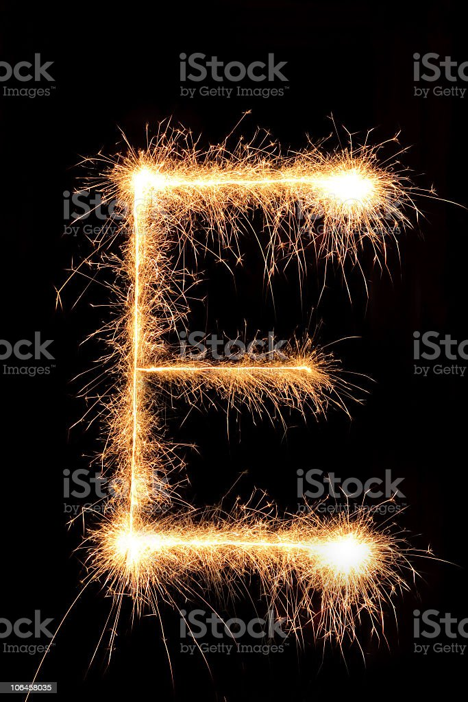 Sparkling Sign stock photo