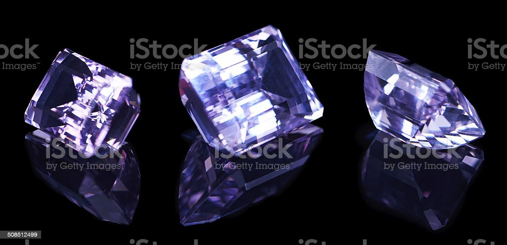 Sparkling stones royalty-free stock photo