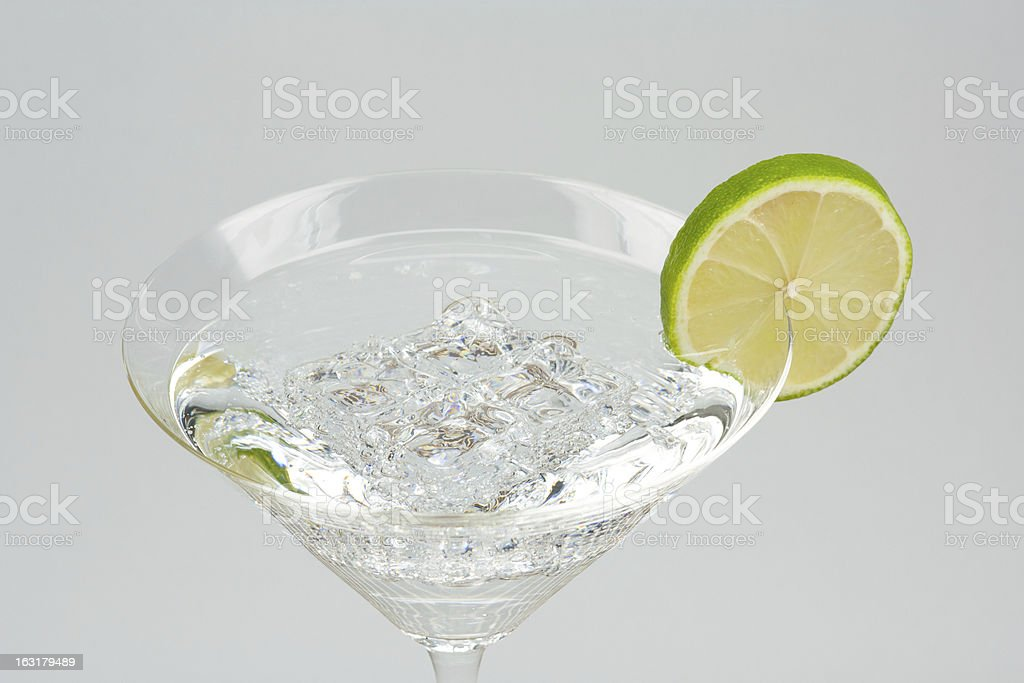 Sparkling water stock photo