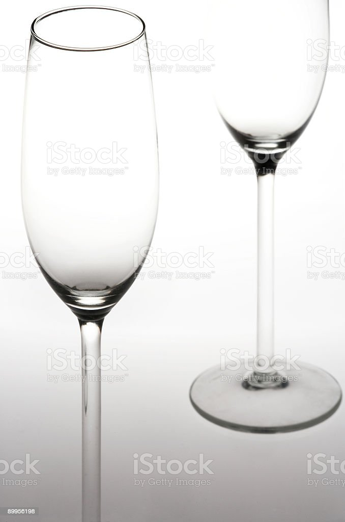Sparkling Wine Glasses - Sektglaeser stock photo