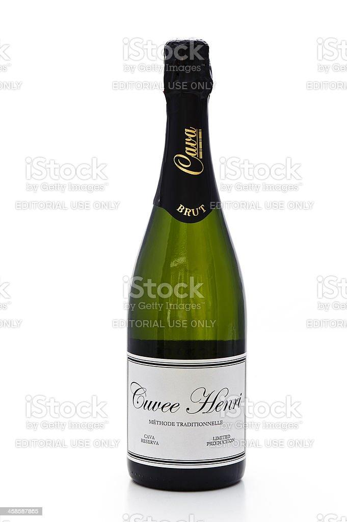 Sparkling Wine (Cava) royalty-free stock photo