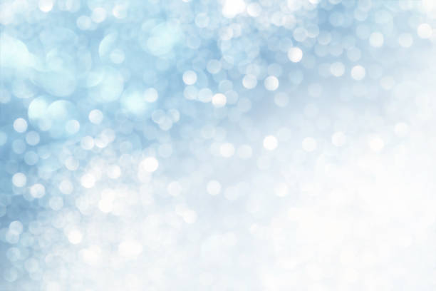 sparkling wintry background - snowflake background stock pictures, royalty-free photos & images