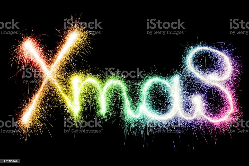 Sparkling Xmas (XXL) royalty-free stock photo