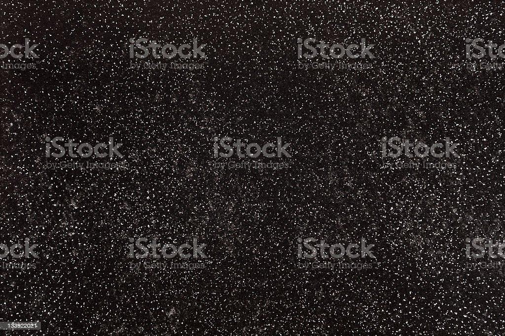 Sparkly Black Felt Background stock photo
