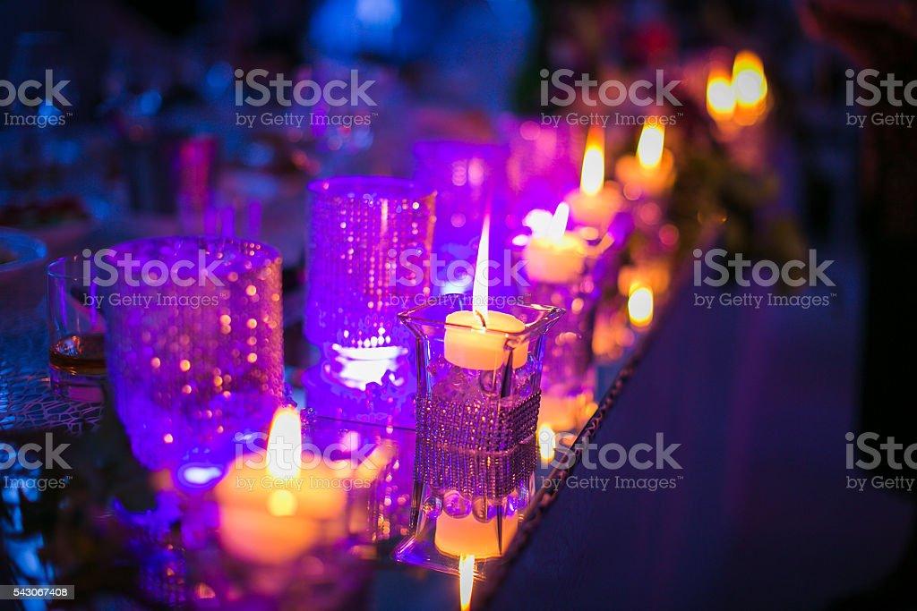 Sparkly night stock photo