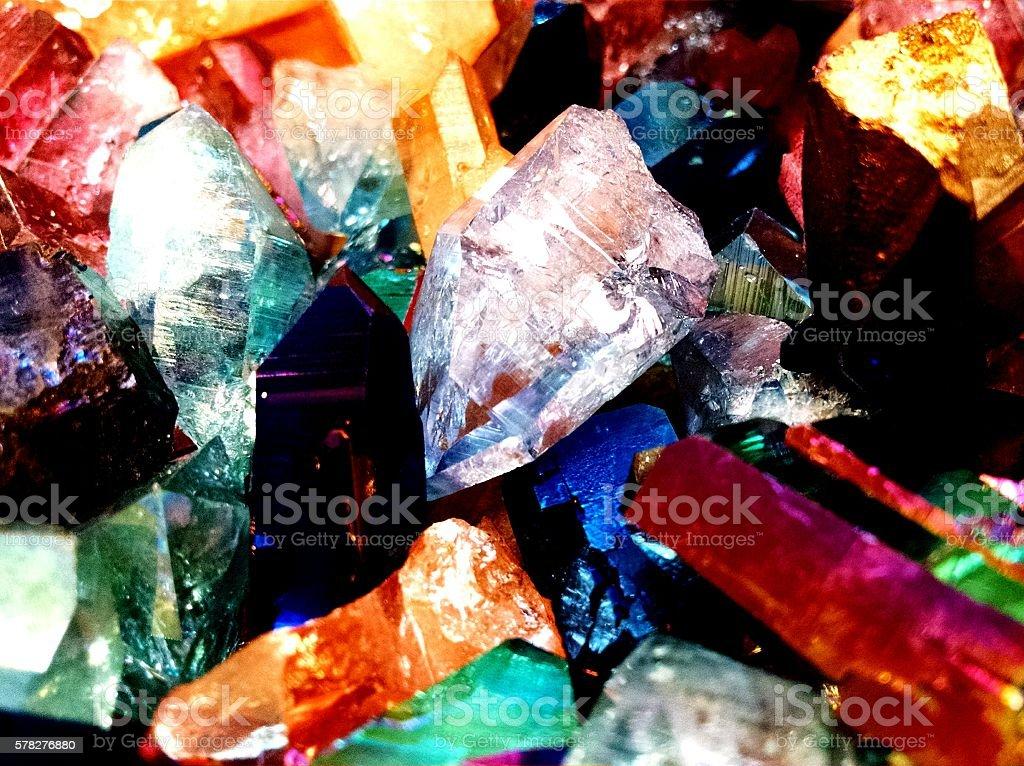 Sparkly Rocks stock photo