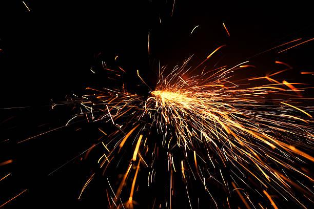 Sparks and fireworks