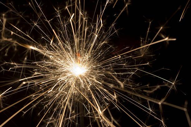 Chispas explosión - foto de stock
