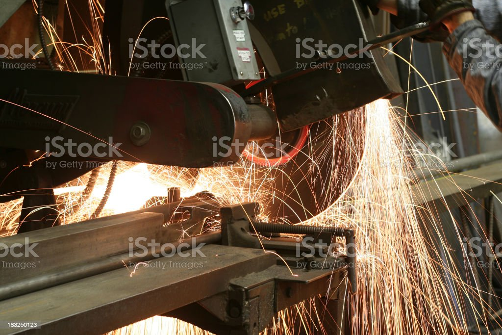 Sparks Fly! royalty-free stock photo