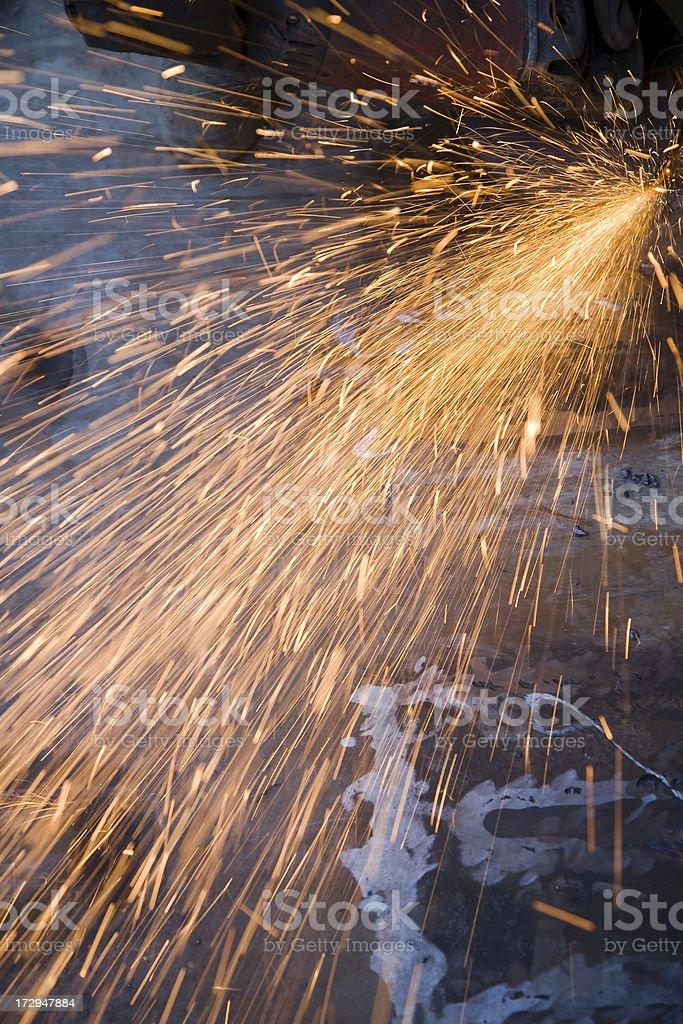 Sparks Fountain royalty-free stock photo