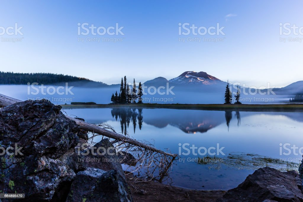 Sparks Lake foto stock royalty-free