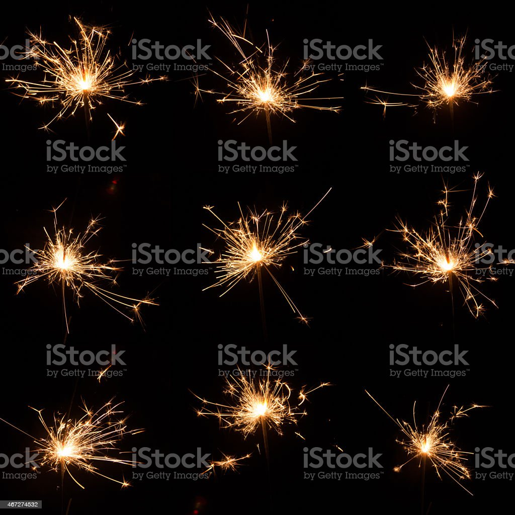 Sparks stock photo