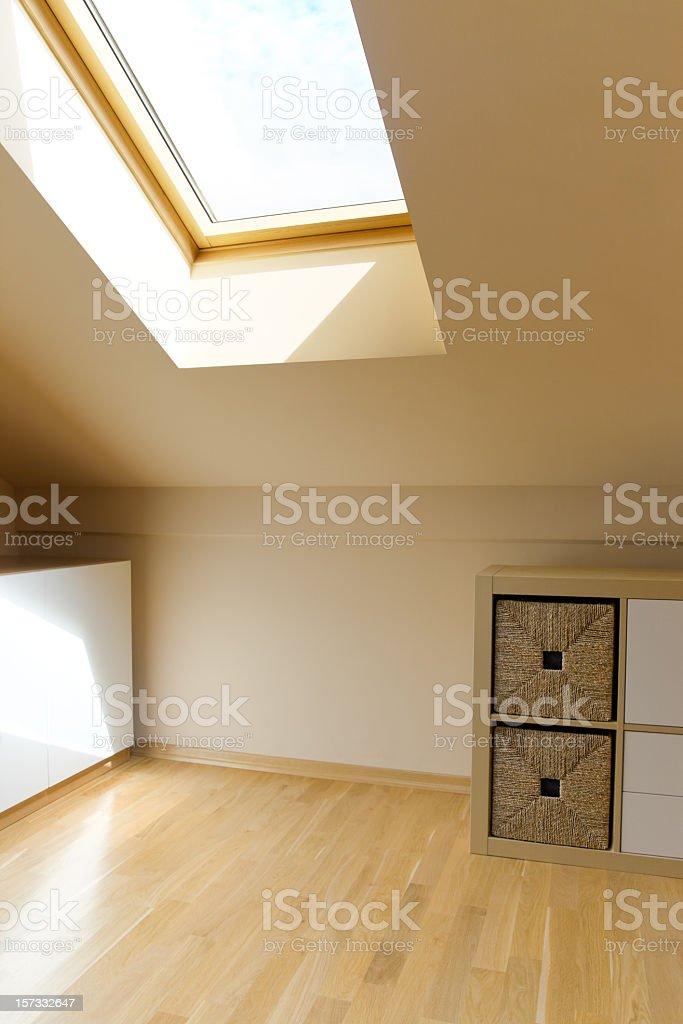 Sparse interior royalty-free stock photo