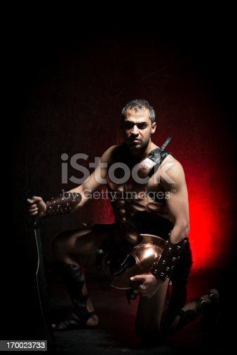 istock Spartan Warrior 170023733