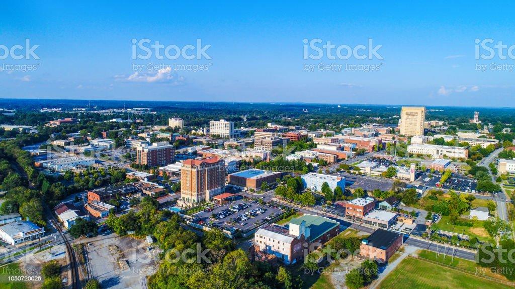 Spartanburg, South Carolina, USA stock photo