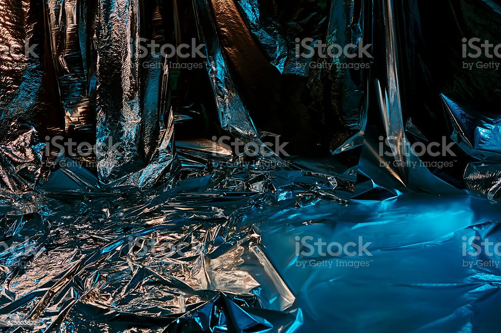 Spashing water or glittering ice background stock photo