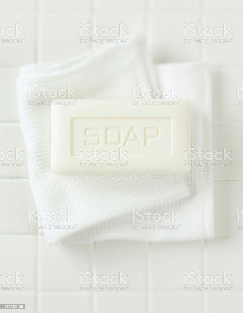 Spa-Soap Bar stock photo