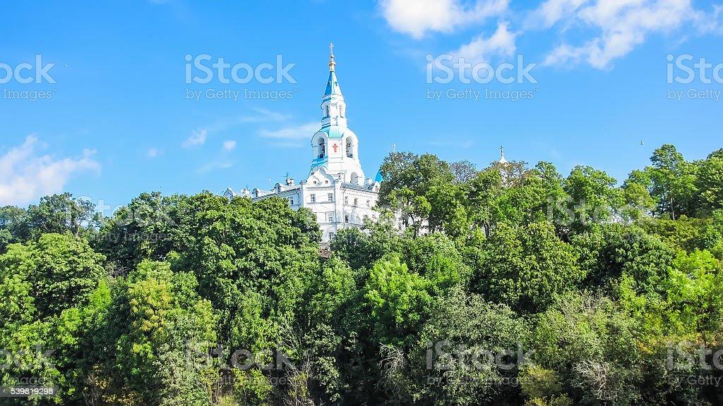 Спасо-Преображенский монастырь, остров Валаам, Россия стоковое фото