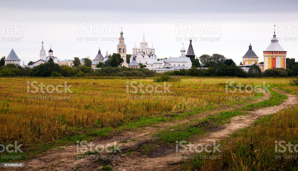 Spaso-Prilutsky Monastery in Vologda, Russia stock photo
