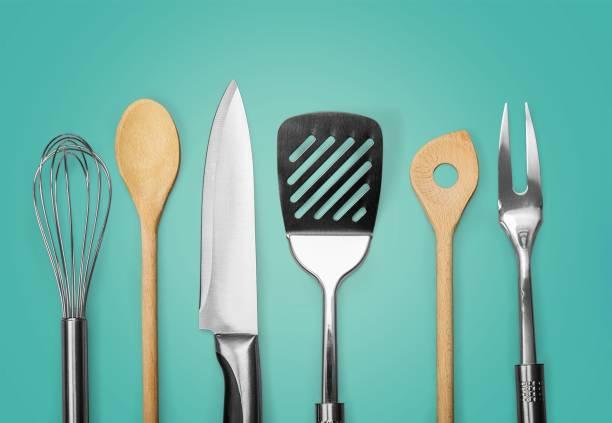 spatel. - keukengereedschap stockfoto's en -beelden