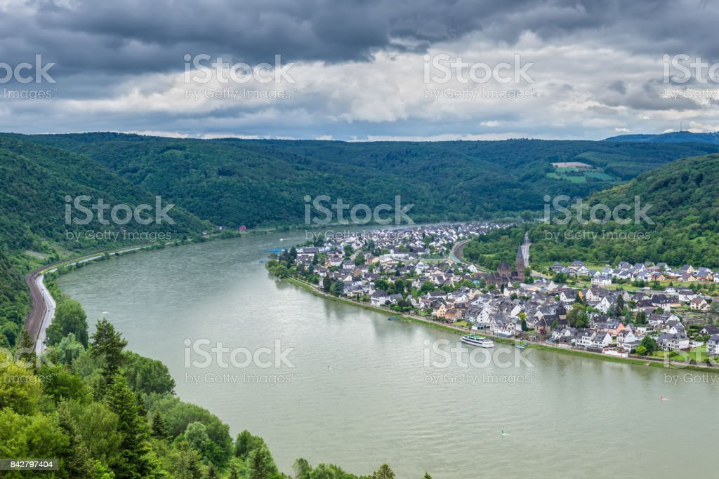 Spay at the Rhine River, Germany