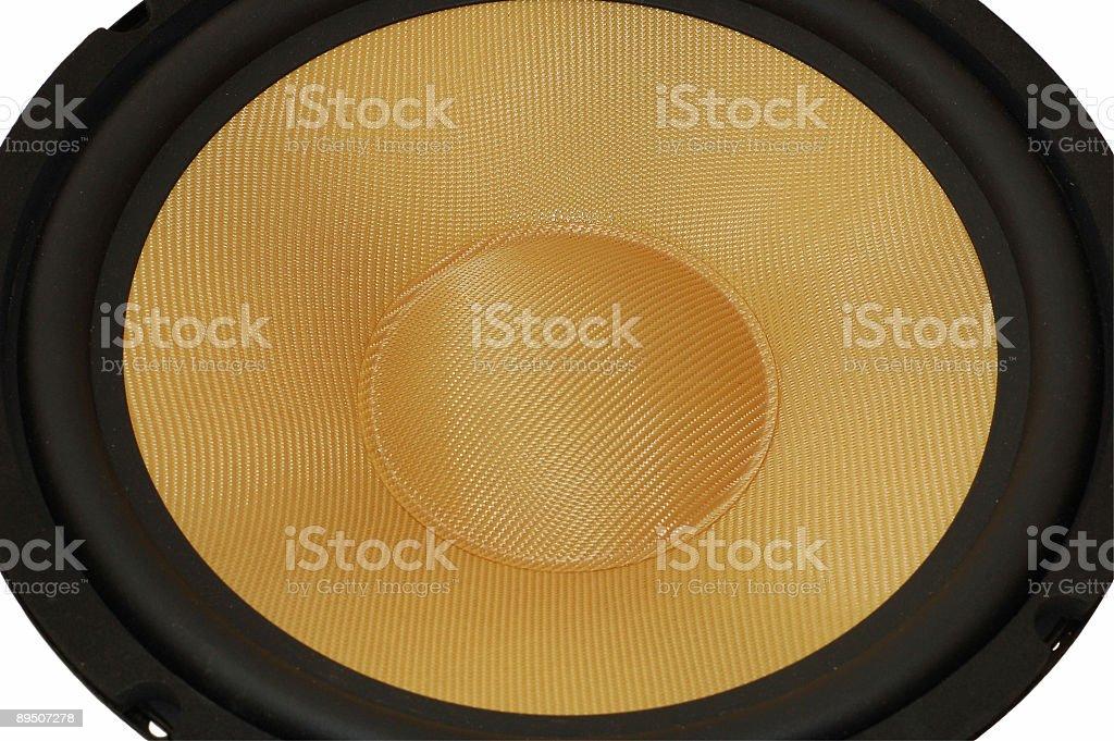 speaker 02 stock photo