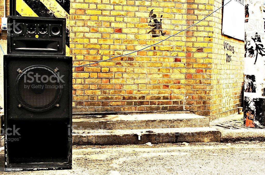 Speaker City stock photo