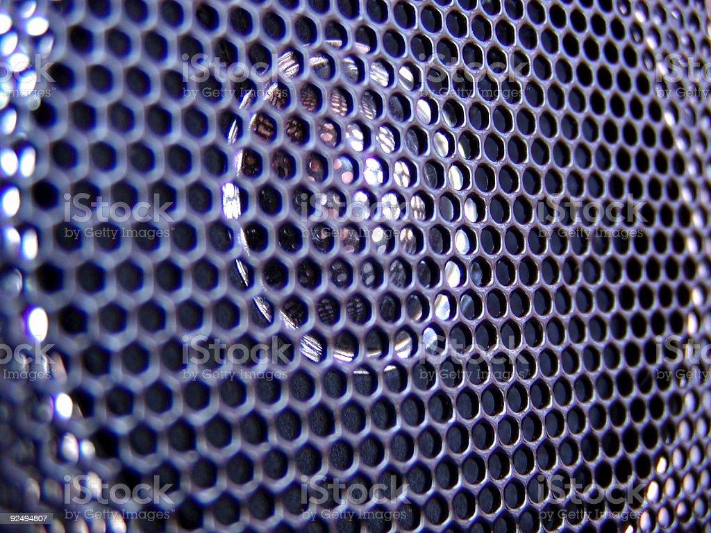 Speaker Close Up royalty-free stock photo