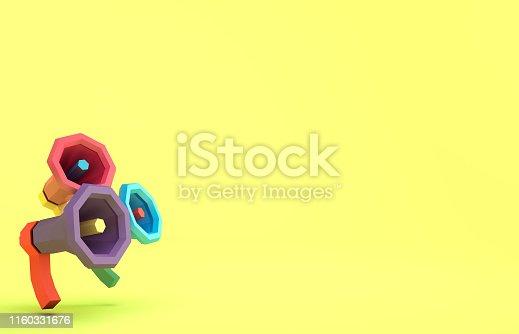 istock Speaker flat 1160331676