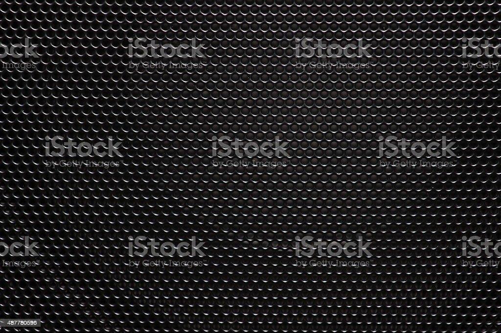 Speaker grill texture stock photo