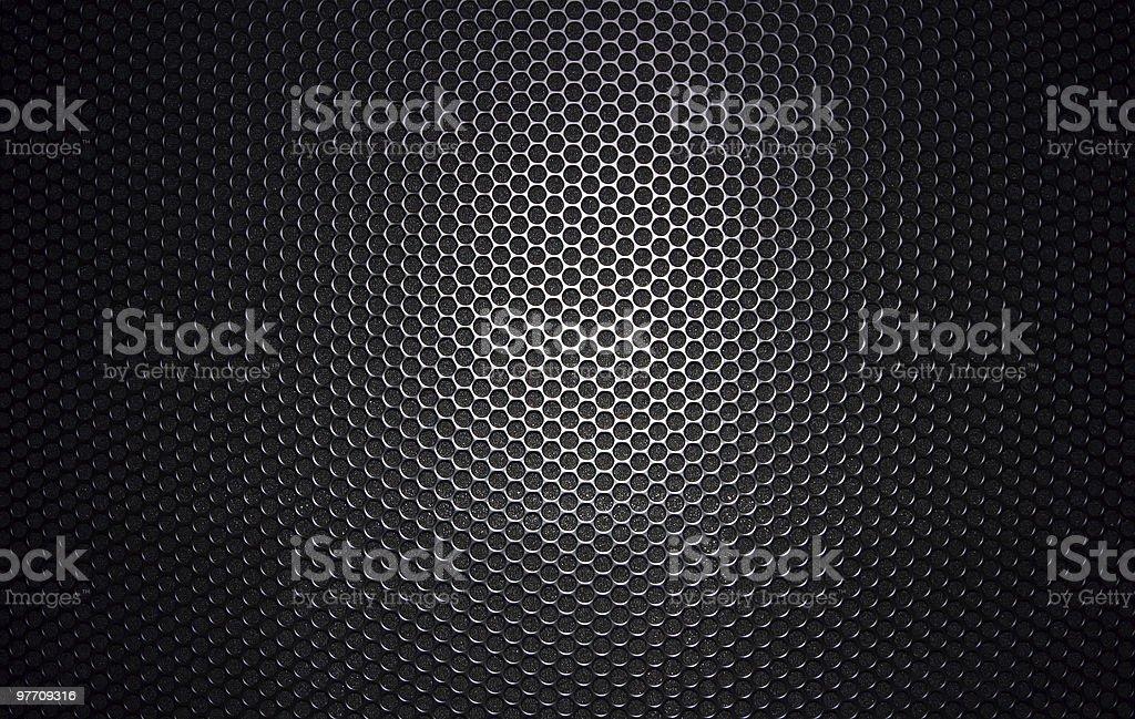 Speaker grille 2 stock photo