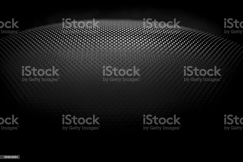 Speaker grille stock photo