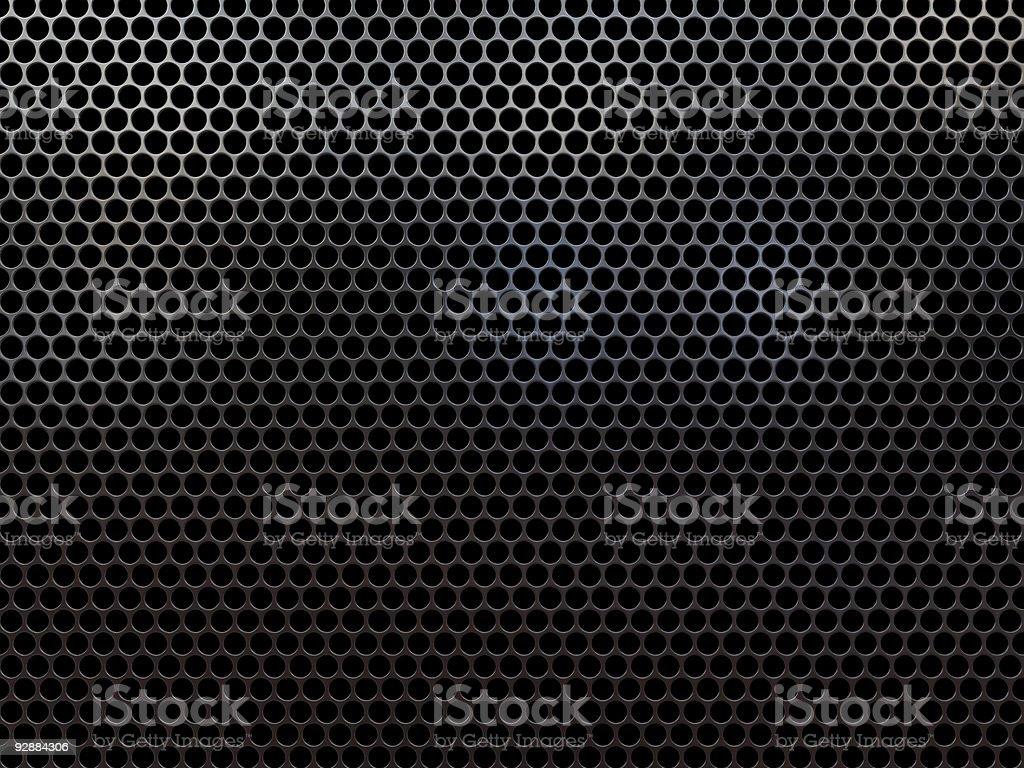 Speaker grille royalty-free stock photo