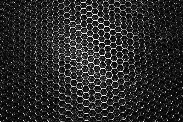 Speaker grille stock photo