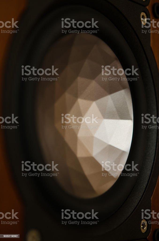 Speaker. Music. Audiophile stock photo
