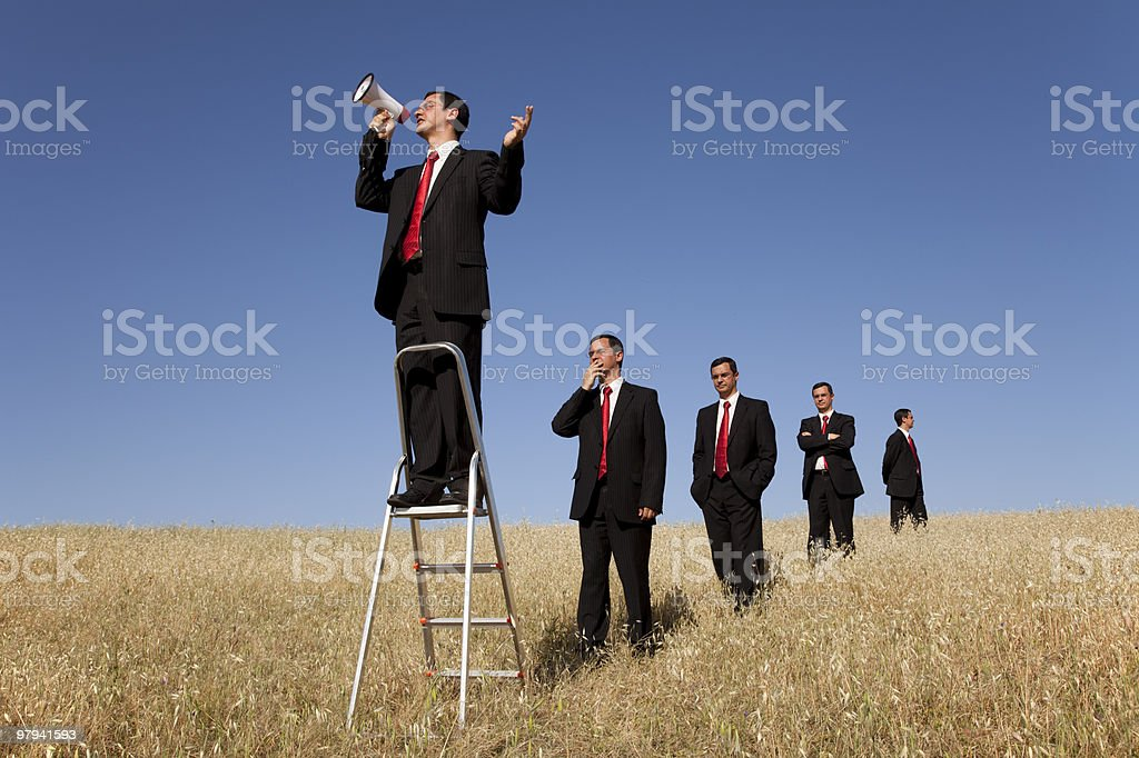Speaker opportunity royalty-free stock photo