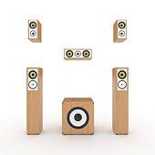 istock Speaker system 93533528