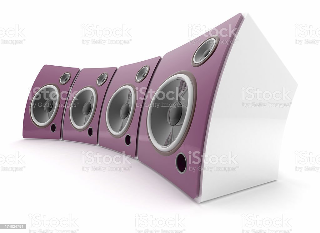 Speakers royalty-free stock photo
