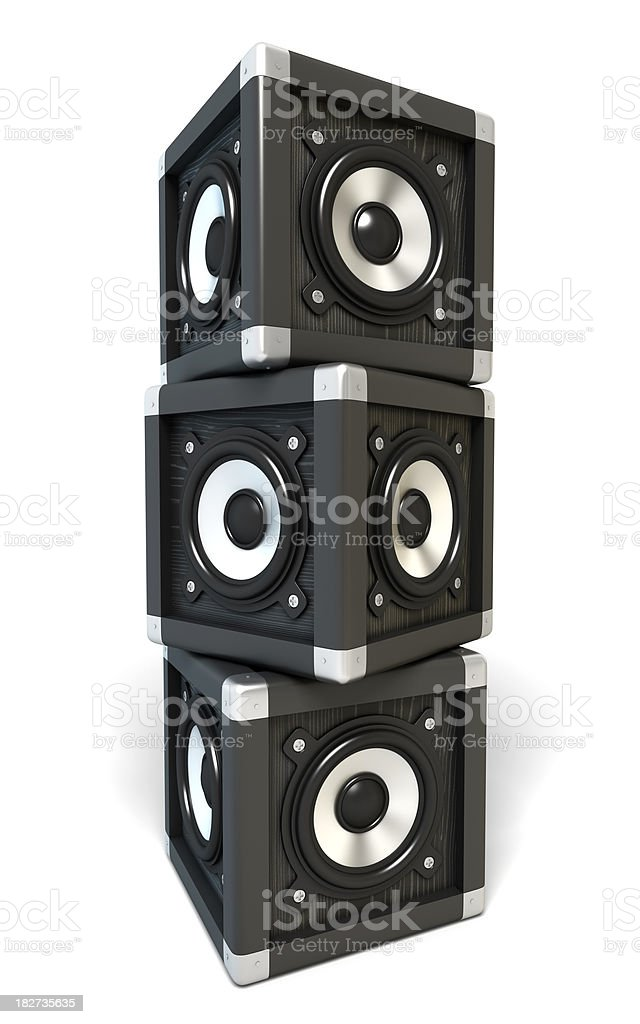 Speakers royalty-free stock photo