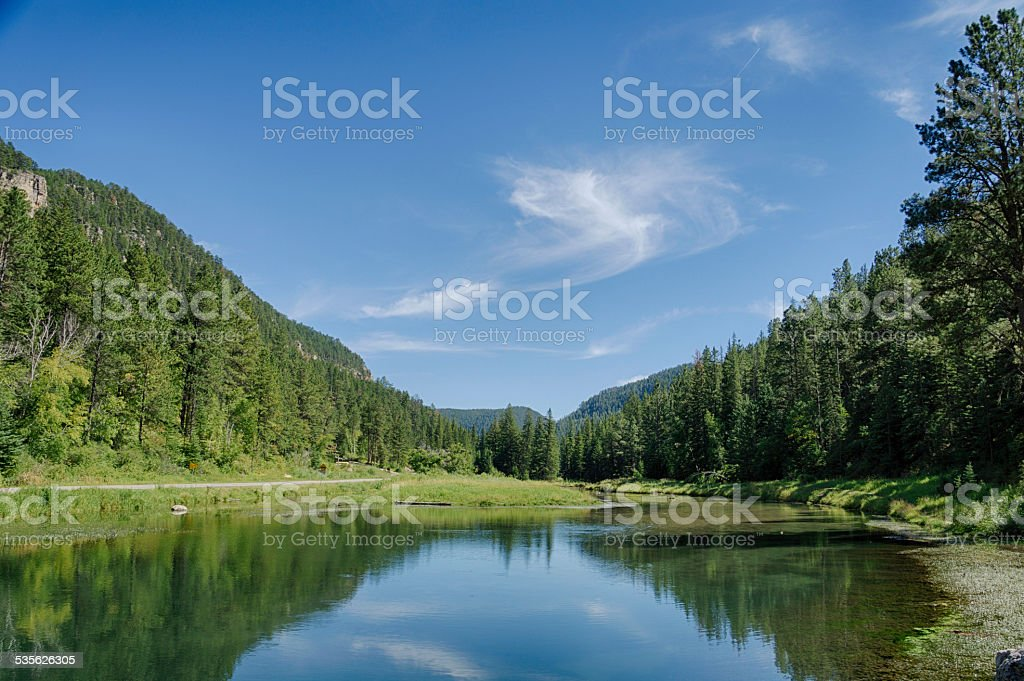 Spearfish Canyon stock photo