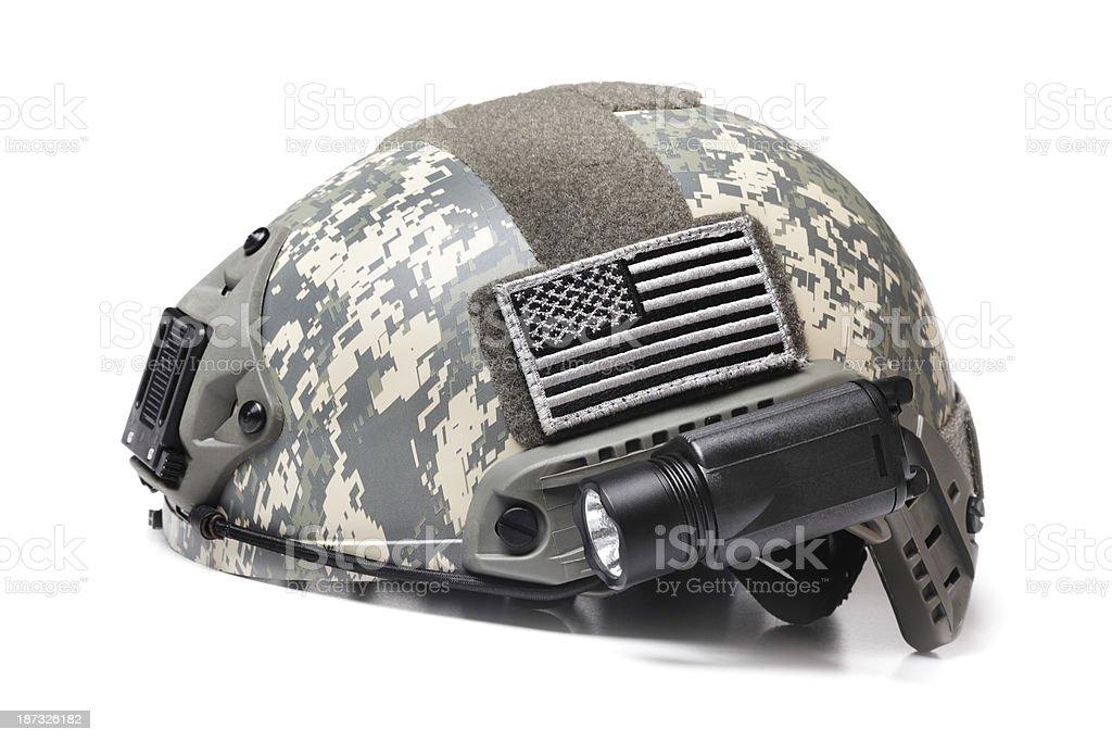 Spec Ops Acupat Helmet stock photo