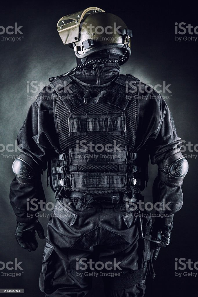 Spec ops stock photo