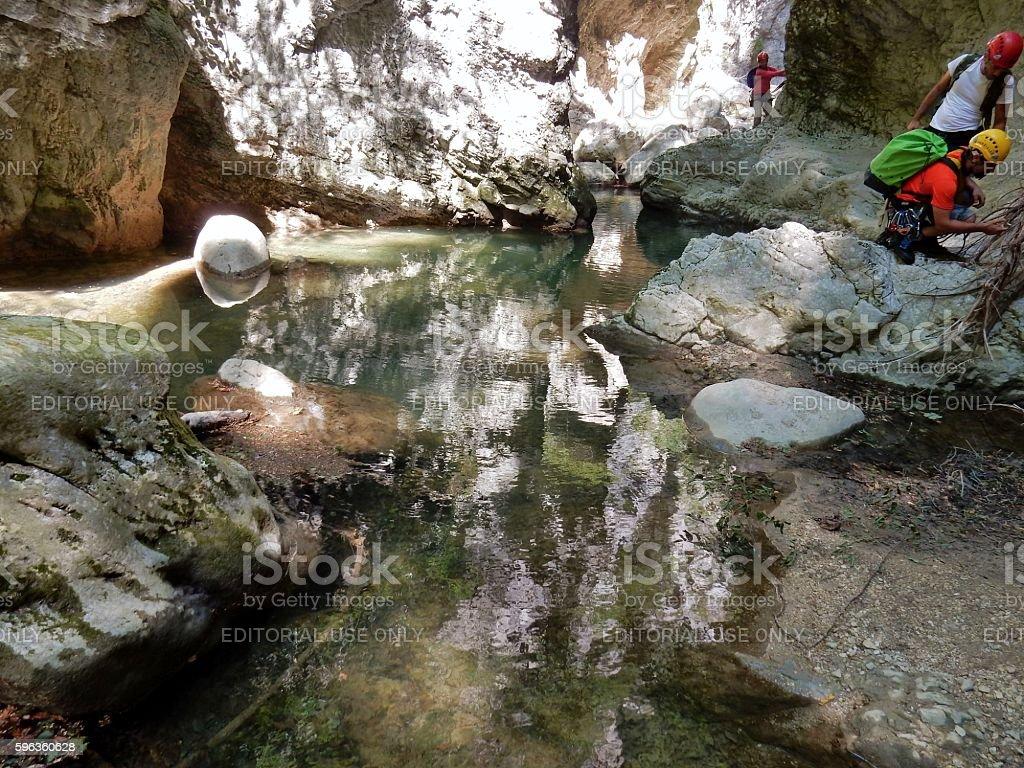 Specchio d'acqua in forra royalty-free stock photo