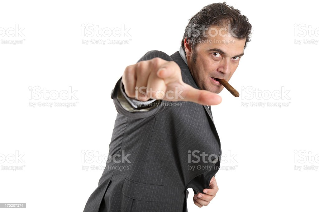 Special agent royalty-free stock photo