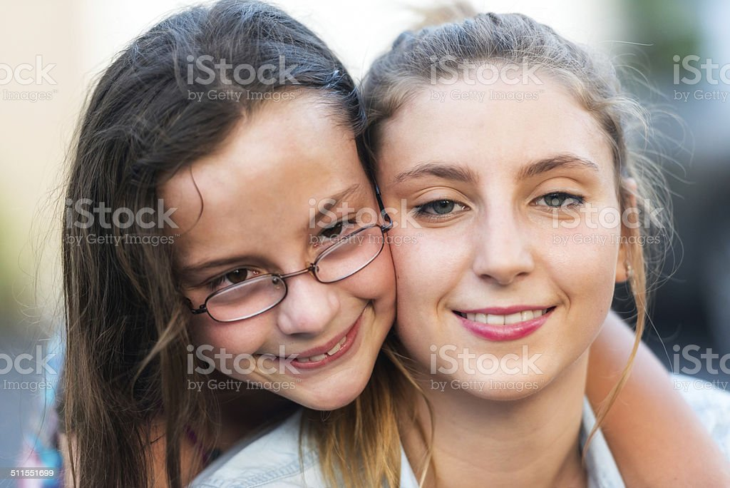 Special Child stock photo