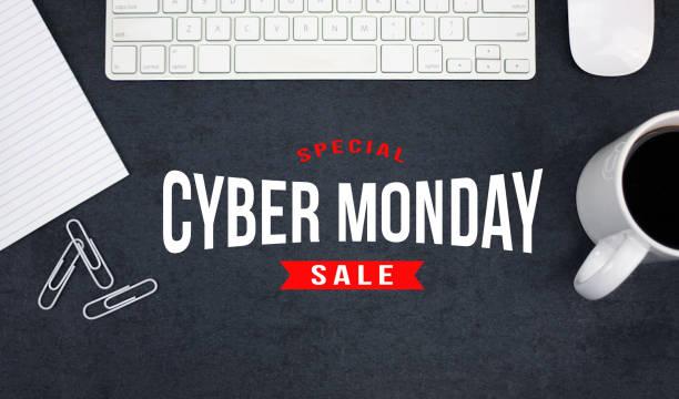 special cyber monday online sale - cyber monday стоковые фото и изображения