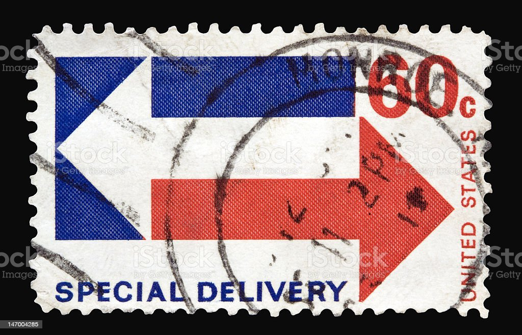 Special Delivery 1971 stock photo