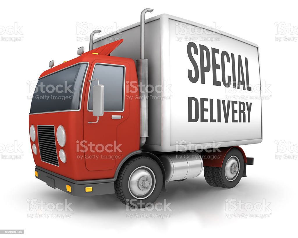 Special Delivery royalty-free stock photo