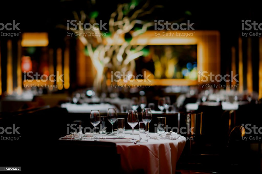 Special Dinner royalty-free stock photo